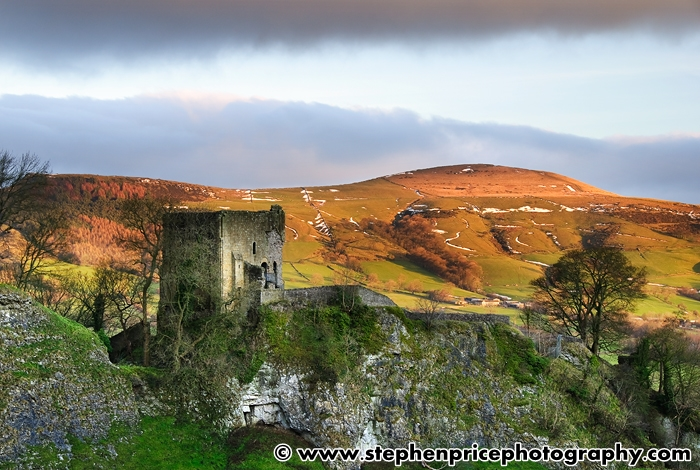 Peveril Castle by Stephen Price