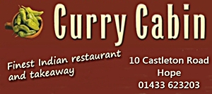 curry cabin ad