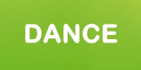 dance green button