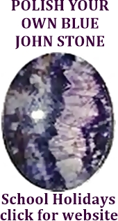 Polish your own Blue John Stone. Click here for website