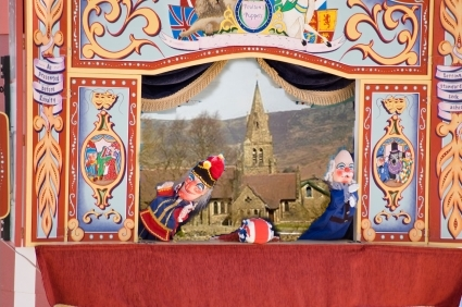 punch and judy edale