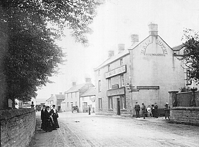 Old Hall Hotel Hope c 1900