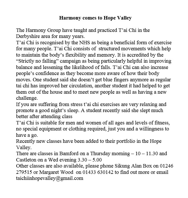 harmony comes to hope valley