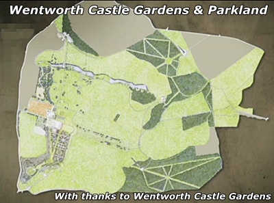wentworth castle gardens and parkland map